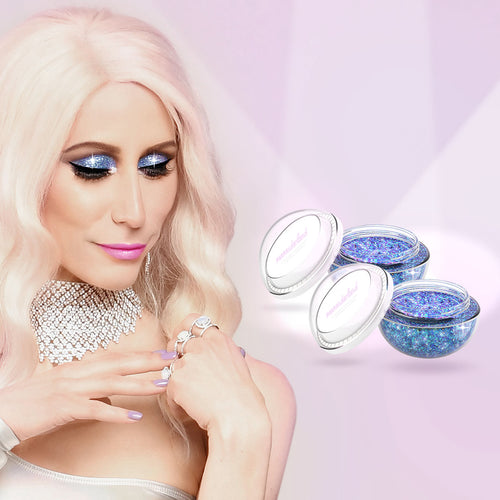 Fantasy Diamond Glitter Cream - No Glue Needed - Eyeshadow - Buy 1 Get 1 FREE Bundle (FREE Shipping)
