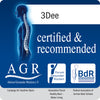 3Dee Certified & recommended by AGR for healthy backs