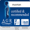 Muvman Certified & recommended by AGR for healthy backs