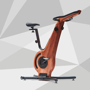 NOHrD Bike indoor cycle. Aesthetic design, solid wood and metal frame.