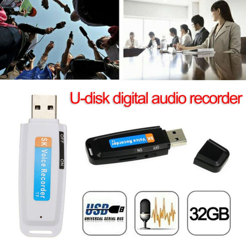 Image of U-Disk Digital Audio Voice Recorder Pen