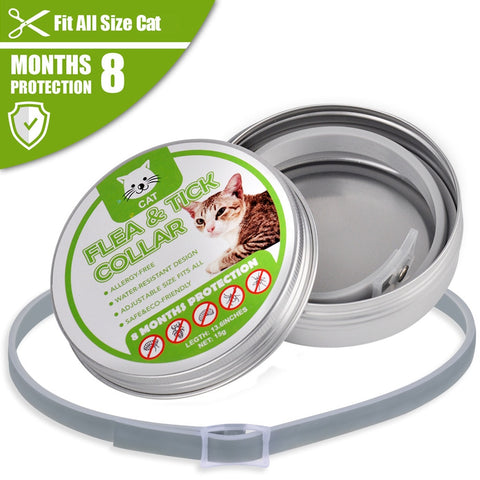 Flea and Tick Collar for Dogs & Cats (Buy 1 Get 1 Free)