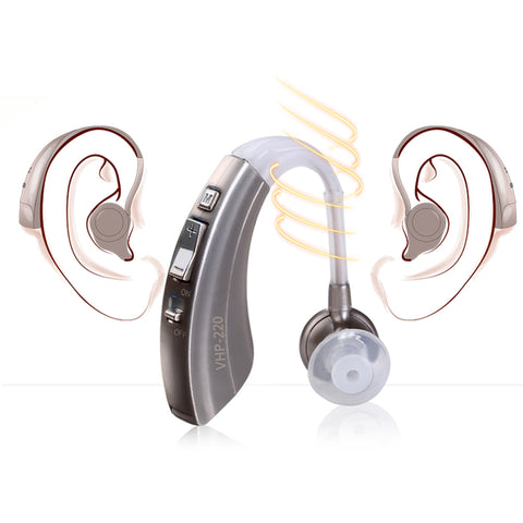Portable 4 Mode Wireless Hearing Aid