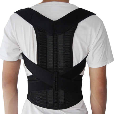 Adjustable Support Corset Back Belt for Men