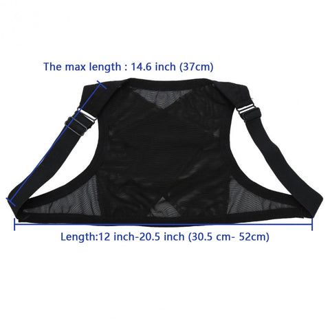 Image of Breathable Posture Corrector Brace