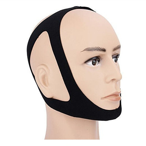 Image of Anti Snore Chin Strap Stop Snoring Belt Sleep Apnea Chin Support Strap