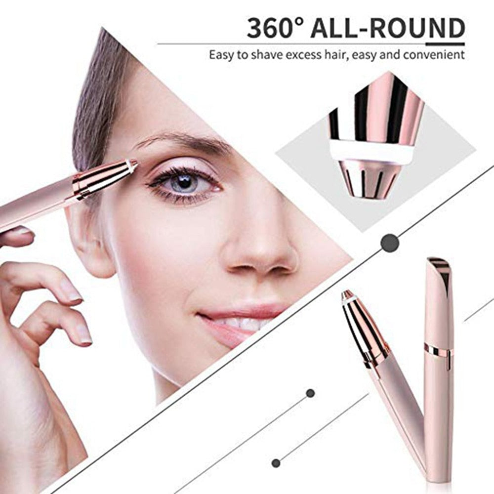 Mini Electric Painless Eyebrow Trimmer