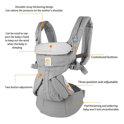 360 All Positions Baby Wrap Carrier