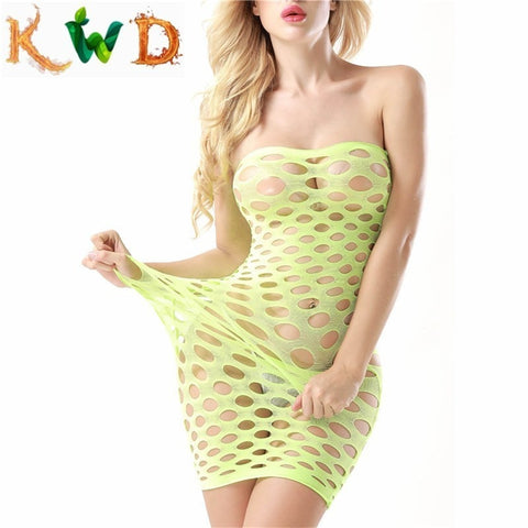Image of Fishnet Baby Doll Sexy Lingerie (Buy 1 Get 1 Free)