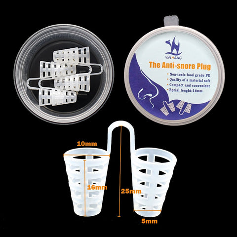 Image of Anti Snore Nose Purifier Nasal Dilators, Chin Strap, Mouthpiece