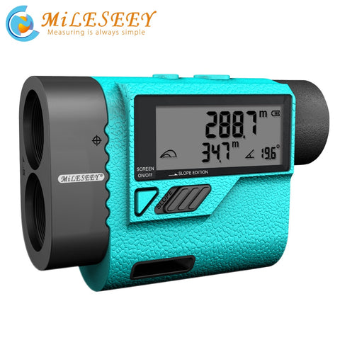 Mileseey PF210 600M Golf Laser Rangefinder Mini  Golf Slope