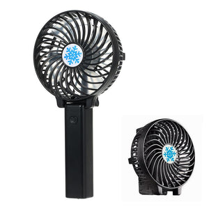 Portable Mini USB Fan Foldable Hand Held Rechargeable