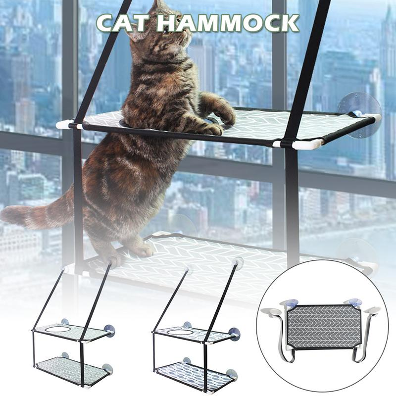 Cat Hammock Window Perch Balcony Suction Cup Soft Mats