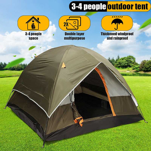 Image of Outdoor  Windbreak Camping Tent