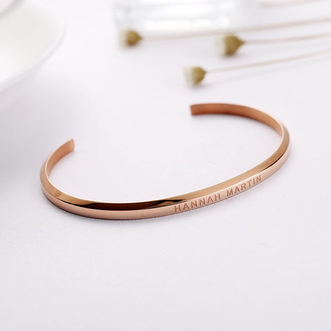 Circle Bar Bracelet For Women Charm Bracelet Watch