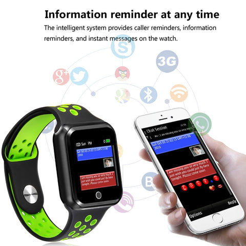 Greentiger S226 Smart Watch Fitness Tracker Android IOS