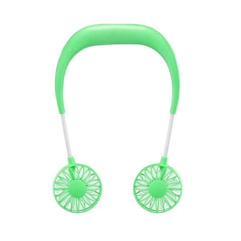 Image of Portable Fans Wearable Neckband Fans