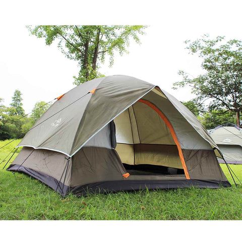 Image of Outdoor UV Windbreak Waterproof Camping Shelter Beach Tent