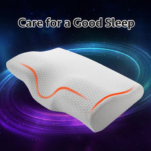 Image of Slow Rebound Memory Foam Bedding Pillow Neck protection