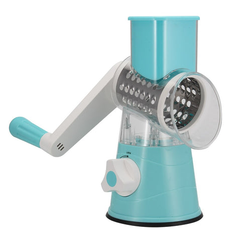 Multi-function Chopper Manual Rotating Grater Vegetable Fruit Cutter