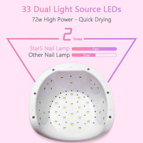 UV Lamp LED Ice Lamps Dryer For Nail