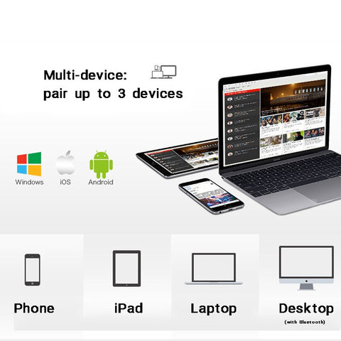 Image of Foldable bluetooth Keyboard For Table PC iPad iPhone