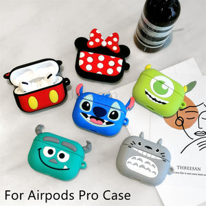 Cute Case For Airpods Pro Case Wireless for apple airpods Pro 3 Silicone Headphones Case