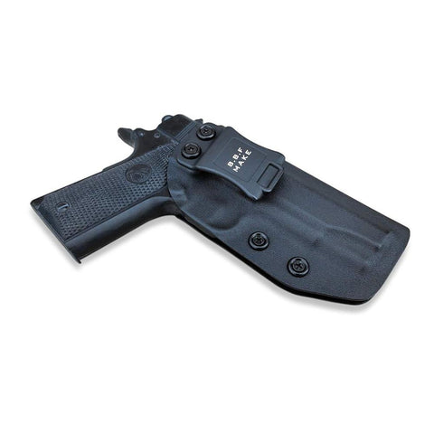 Image of KYDEX IWB Gun Holster Colt Commander 1911 .45 9mm 4.25 / 4.5 Inch PT1911 Pistol Case Waistband Inside Carry Concealed Holster