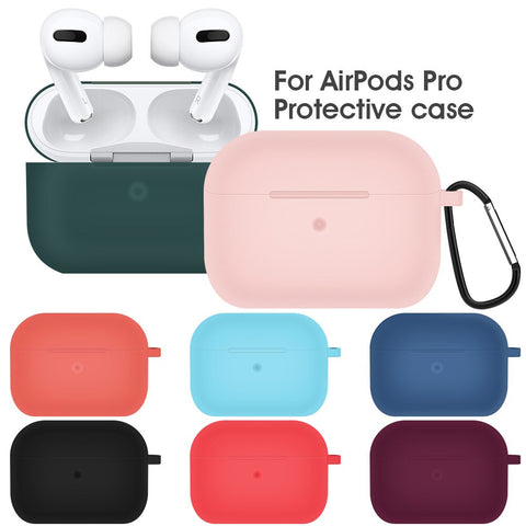Liquid Soft Silicone Case For Airpods Pro Case Wireless Bluetooth airpod 3