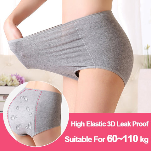 High Waist Period Panties  Plus Size