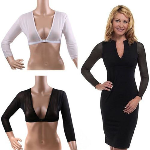Image of Plus Size Seamless Arm Shaper