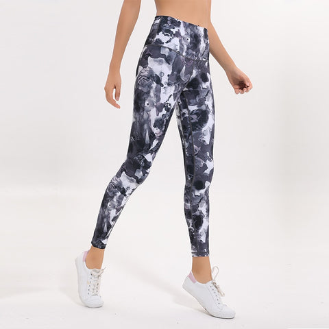 Image of Out Pocket Printed Sports Leggings