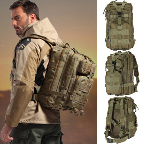 Outdoor Waterproof Army Military 1000D Nylon 30L Tactical Backpacks