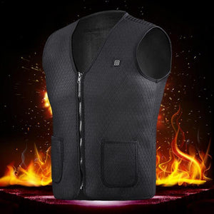 Outdoor Sports Skiing Fishing USB Charging Electric Heated Vest