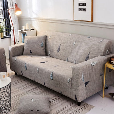 Slipcovers Sofa Cover Slip-Resistant Full Elastic Couch Cover Single/Two/Three/Four-seater