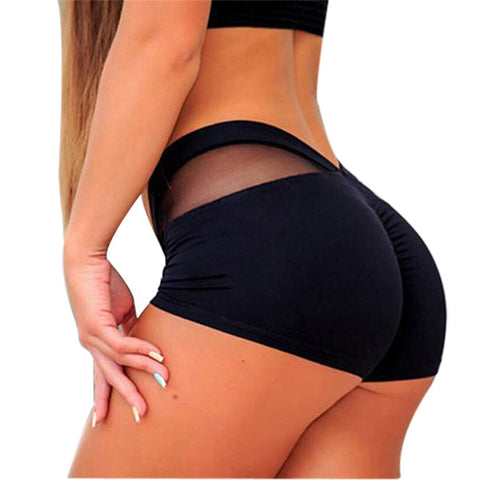 Breathable Fitness Workout Shorts