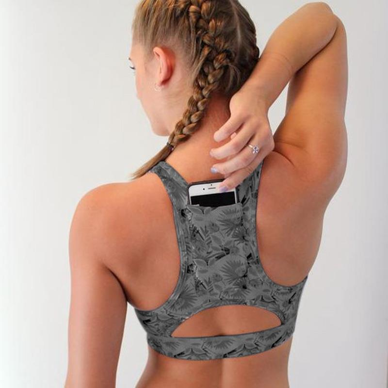 Padded Compression Sports Bra