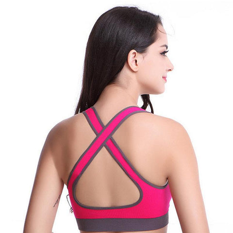 Image of Seamless Fitness Running Bra