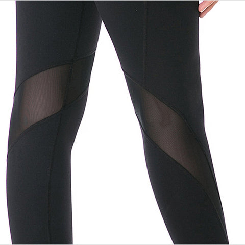 Image of Mesh Insert Sport Leggings