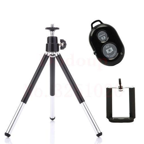 Image of Neat Entropy Black Bluetooth Remote Extendable Tripod