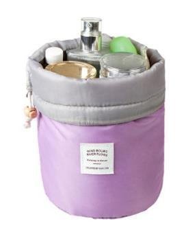 Neat Entropy Lavender Barrel Travel Cosmetic Bag