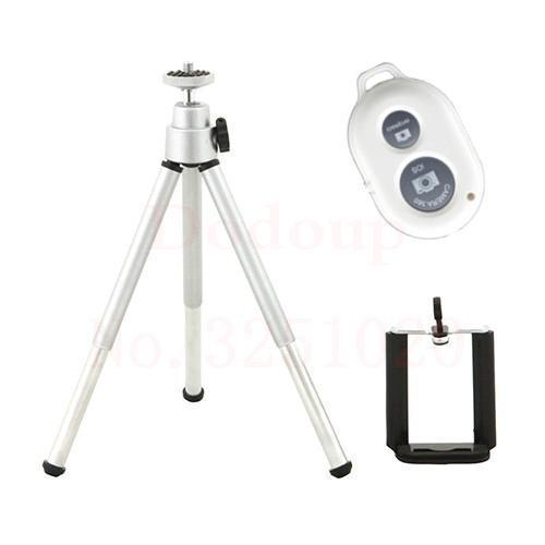 Neat Entropy Silver Bluetooth Remote Extendable Tripod