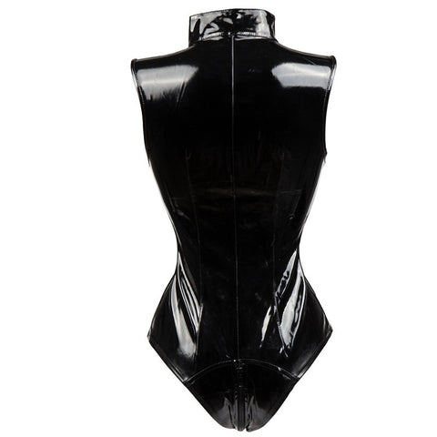 Image of Women PVC Catsuit Gothic Fetish Exotic Teddy Clubwear