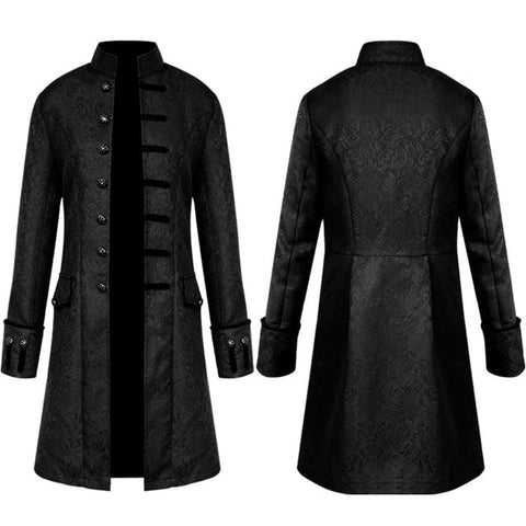 Men's Brocade Formal Wedding Coat