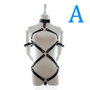 Leather Flirting Body Harness