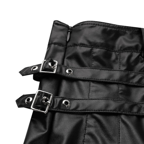 Full Grain Leather Gladiator Kilt Bluf Breeches Cargo KILT