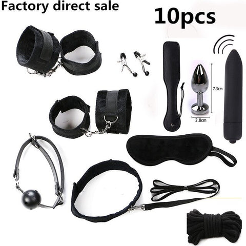 Image of BDSM Sex Bondage Restraint Kit Games for Couples