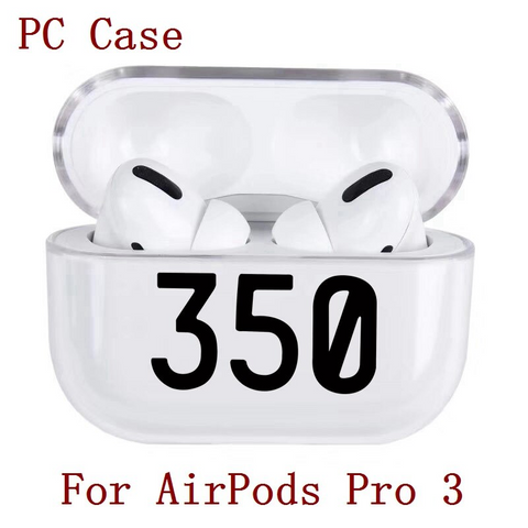 Luxury Transparent Protective Airpods Pro Case Cover