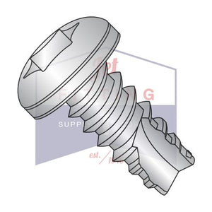 6-20X3/8  6 Lobe Pan Thread Cutting Screw Type 25 Fully Threaded 18 8 Stainless Steel