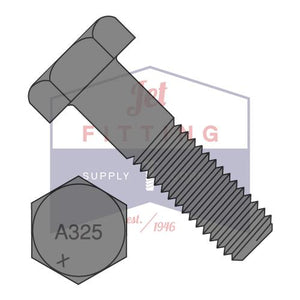 7/8-9X2 3/4  Heavy Hex Structural Bolts Steel A325-1 Plain Made in North America